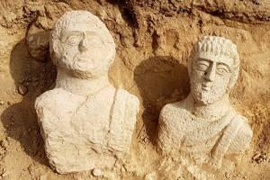 Fotó: MTI/EPA/Izraeli Régészeti Hatóság/Eitan Klein